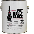 SHEFFIELD  1G POT BELLY BLACK HIGH TEMPERATURE FINISH