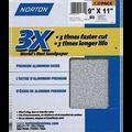 "NORTON 9"" X 11"" 3X P80C BULK PK 1/50"