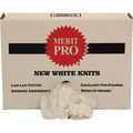 MERIT PRO  #10 8LB RED BOX WHITE NEW WASHED KNIT RAGS