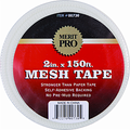 "MERIT PRO 2"" X 150' WHITE MESH TAPE"