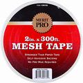 "MERIT PRO 2"" X 300' WHITE MESH TAPE"