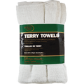 MERIT PRO  18PK 14 X 17 WHITE TERRY TOWELS