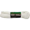 MERIT PRO  6PK 14 X 17 WHITE TERRY TOWELS