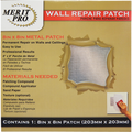 "MERIT PRO  8"" X 8"" WALL REPAIR PATCH"