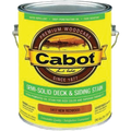 CABOT 1417 New Redwood Decking Stain Gal.