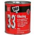 DAP 33 Glazing Compound White / Quart