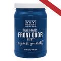 MODERN MASTERS 275270 QT BLUE SATIN FRONT DOOR PAINT CALM