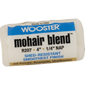 "WOOSTER R207 4"" MOHAIR BLEND 1/4"" NAP ROLLER COVER"