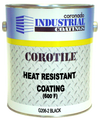 Coronado COROTILE High Heat Resistant Enamel BLACK (G206-2) 1 Gallon