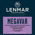 Lenmar SATIN Water White Conversion Varnish (1M.430X Series) 1 Gallon