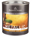 Benjamin Moore Latex Metallic Glaze 62020 SILVER Gallon
