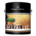 Benjamin Moore Latex Metallic Glaze 62020 SILVER Quart