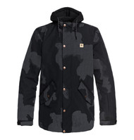 DC Union Se - Reflective Snow Jacket for Men - Black Camo