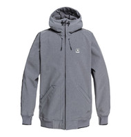 DC - Spectrum - Softshell Bomber Snow Jacket for Men - Grey Heather
