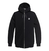 DC - Spectrum - Softshell Bomber Snow Jacket for Men - Black