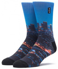 HUF Worldwide City Crew Socks - Los Angeles
