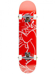 Almost Tom & Jerry Lines Complete Mini Pro Skateboard 7.0""