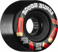 Bones Wheels ATF Rough Rider Shotgun Black Skateboard Wheels - 59mm