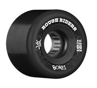 Bones Wheels ATF Rough Rider Black Skateboard Wheels - 56mm