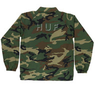 HUF Worldwide Shadow Coach Jacket - Camo