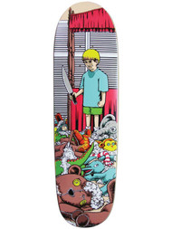 "101 Adam Mcnatt - Stuffed Animals Heritage Skateboard Deck 8.5"" - Re-Issue"