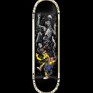 "Zero X Simpsons Springfield Massacre Skateboard Deck - Otto 8.5"""