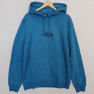 Stussy Designs Applique Hood - Ocean Blue