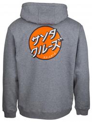 Santa Cruz Japanese Dot Hoodie - Grey