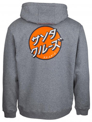 Santa Cruz Japanese Dot Hoodie - Grey