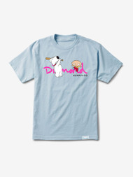 Diamond Supply Co X Family Guy Script Tee - Blue