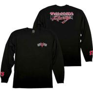 Thrasher Racing Long Sleeve Tee - Black