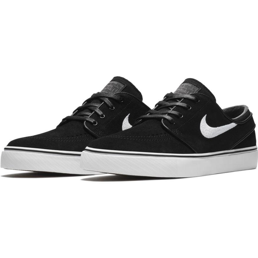 470141a2e7 Nike SB Stefan Janoski Shoes - Black / White / Thunder Grey