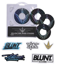 Blunt Envy 110mm Hollowcore Wheel Stickers - Geo