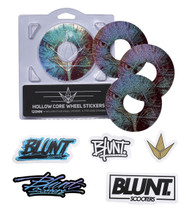 Blunt Envy 110mm Hollowcore Wheel Stickers - Hawk