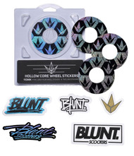 Blunt Envy 110mm Hollowcore Wheel Stickers - Hex
