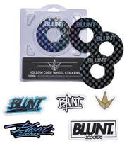 Blunt Envy 110mm Hollowcore Wheel Stickers - Repeat