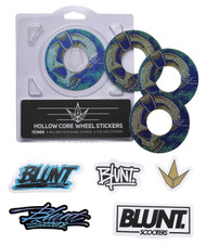 Blunt Envy 110mm Hollowcore Wheel Stickers - Skullphones