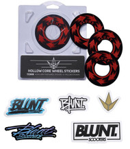Blunt Envy 110mm Hollowcore Wheel Stickers - Spin