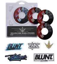 Blunt Envy 110mm Hollowcore Wheel Stickers -  Font