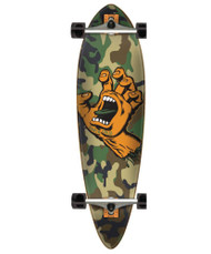 Santa Cruz Screaming Hand Pintail Longboard - Camo