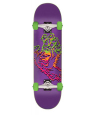 "Santa Cruz Throwdown Screaming Hand 7.75"" Complete Skateboard"