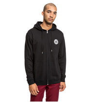 DC - Rebel - Zip Up Hoody - Black