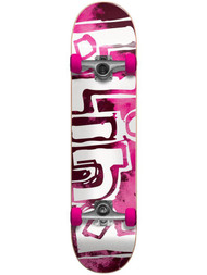 Blind OG Water Color Neon Pink 7.875 - Complete Skateboard