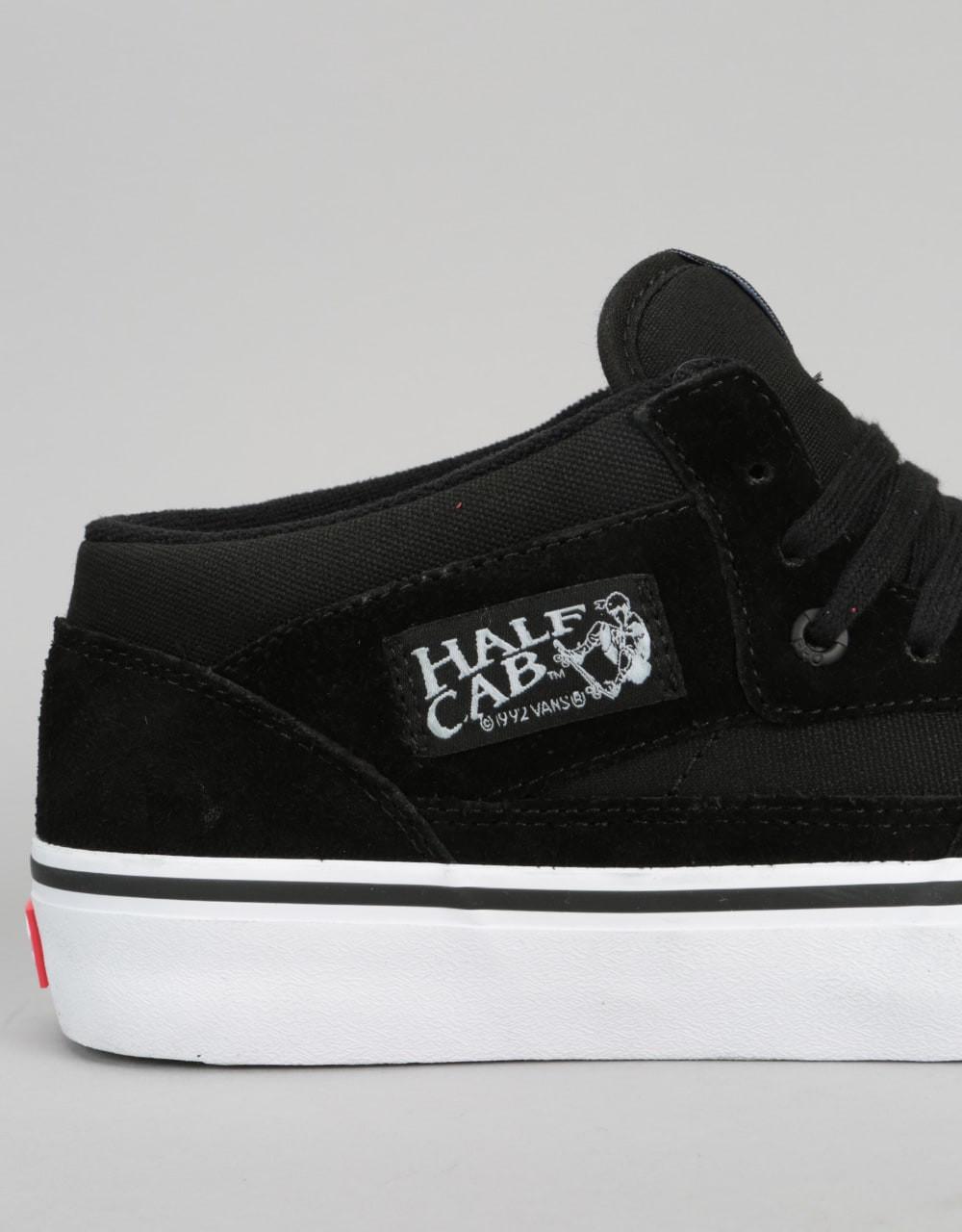 b510c73376 Vans Half Cab Pro Skate Shoes - Black Black White. Price  £69.95. Image 1.  Larger   More Photos