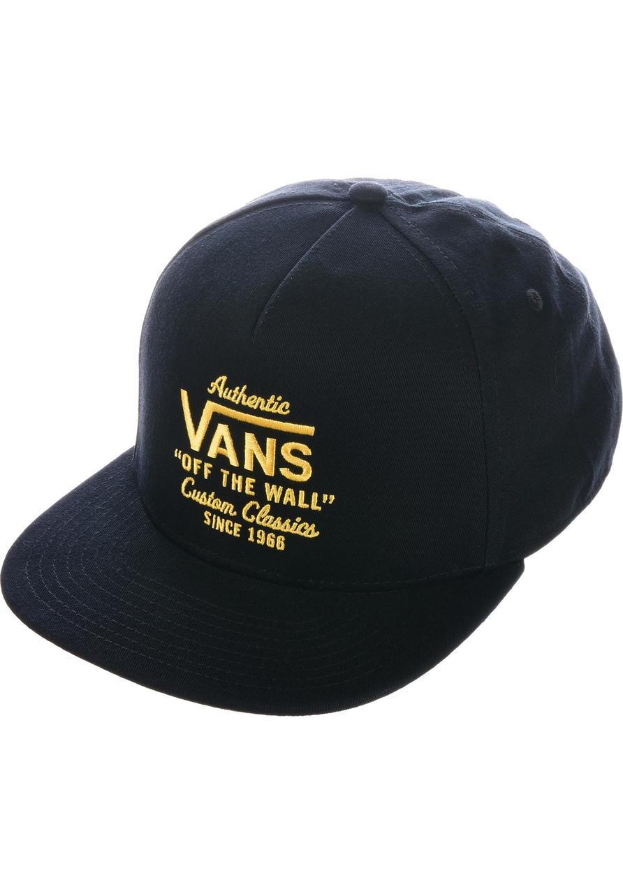 03cd561ae49 Vans Wabash Snapback Hat - Black Gold
