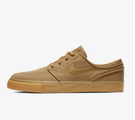 Nike SB Stefan Janoski Canvas Shoes - Golden Beige