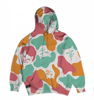 RIPNDIP Oversized Camo - Multi Colored Hoodie