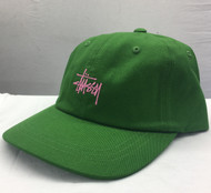 Stussy Stock Low Pro Cap - Green