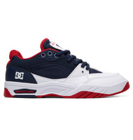 DC Maswell Skate Shoes - Navy White