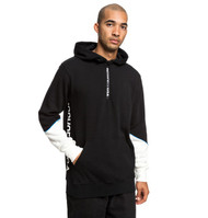 DC - Glynroad - Half Zip Hoodie - Black and White